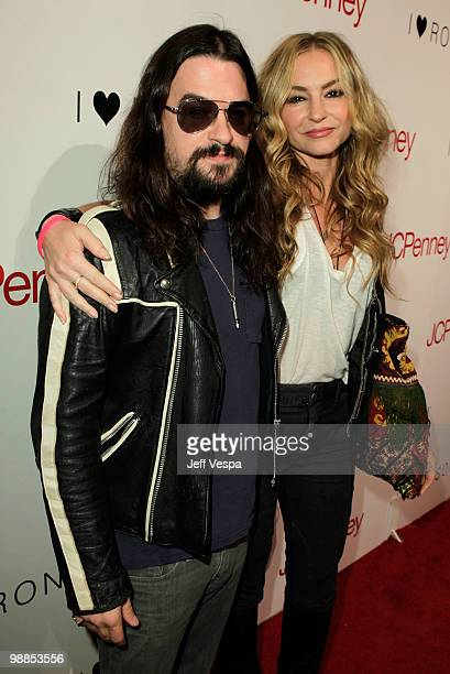 Musician Shooter Jennings and actress Drea de Matteo arrive at Charlotte Ronson and JCPenney Spring Cocktail Jam held at Milk Studios on May 4 2010...