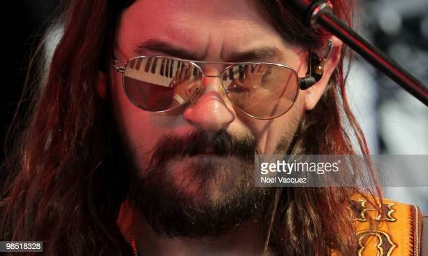 Musician Shooter Jennings of Shooter Jennings Heirophant performs during day two of the Coachella Valley Music Arts Festival 2010 held at the Empire...