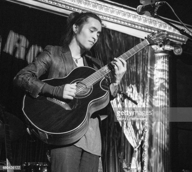 Musician Shun Ng performs live in concert at The Cutting Room on May 7 2017 in New York City