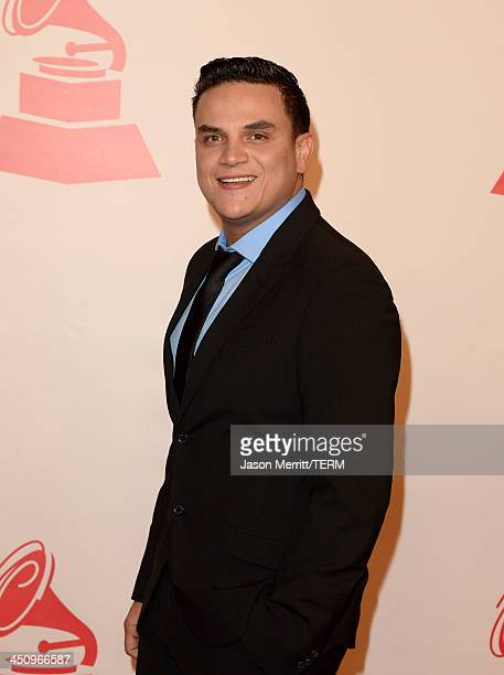Musician Silvestre Dangond arrives at the 2013 Latin Recording Academy Person Of The Year honoring Miguel Bose at the Mandalay Bay Convention Center...