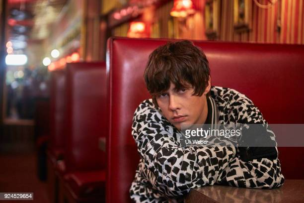 Musician singer and songwriter Jake Bugg is photographed for Corriere della Sera magazine on November 3 2017 in London England