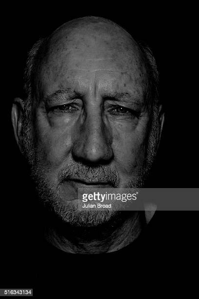 Musician singer and songwriter Pete Townshend of rock group The Who is photographed for Variety magazine on June 26 2015 in Glastonbury England