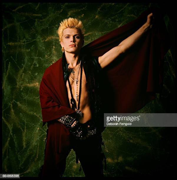 Musician, singer, songwriter Billy Idol poses in January 1984 in New York City, New York.