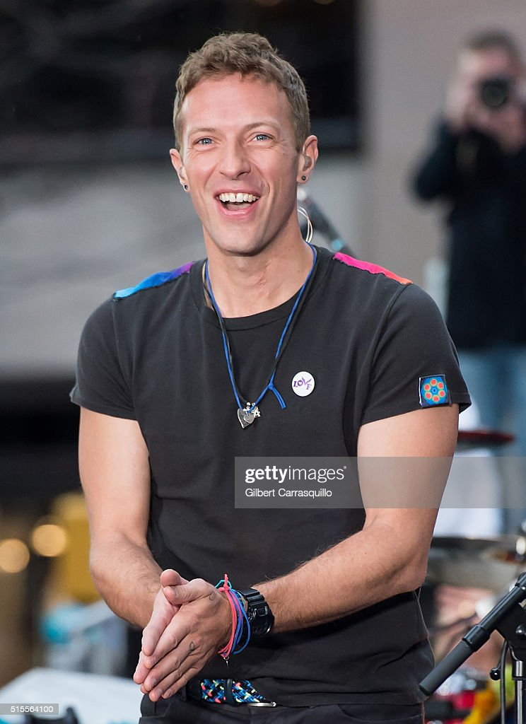 "Coldplay Performs On NBC's ""Today"""