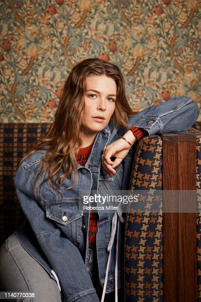 Musician singer songwriter Maggie Rogers is photographed for Billboard magazine on December 20 2018 in New York City United States