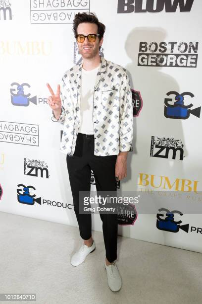 Musician Singer Songwriter Mayer Hawthorne attends George Jung's Birthday Celebration And Screening Of Blow at TCL Chinese 6 Theatres on August 6...