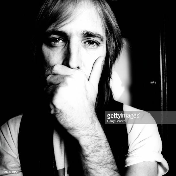 Musician singer songwriter multi instrumentalist and record producer Tom Petty is photographed for the NME on May 3 1989 in New York United States