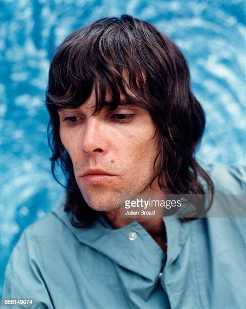 Musician singersongwriter Ian Brown is photographed in 1999 for Polydor Records in London England