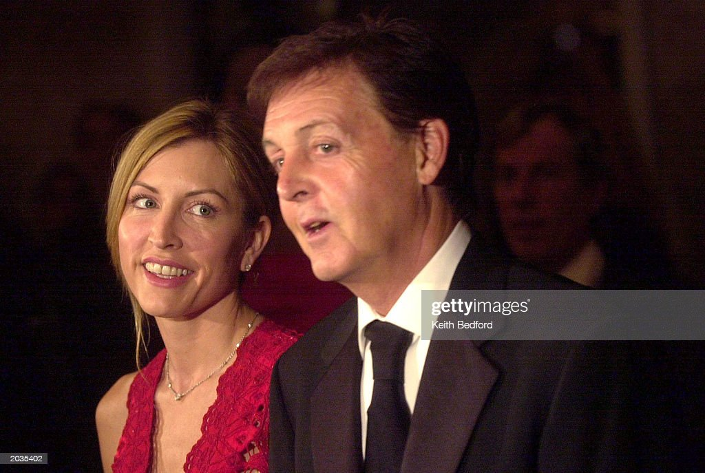Musician Sir Paul McCartney And His Wife Heather Mills Attend The UN Global Leadership