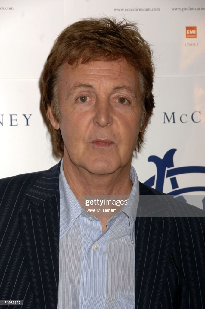 Musician Sir Paul McCartney Poses For A Portrait Shoot To Promote His New Album Ecce