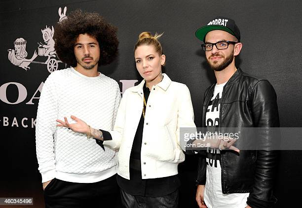 Musician Skylar Grey attends Coach Backstage Rodeo Drive on December 11 2014 in Beverly Hills California