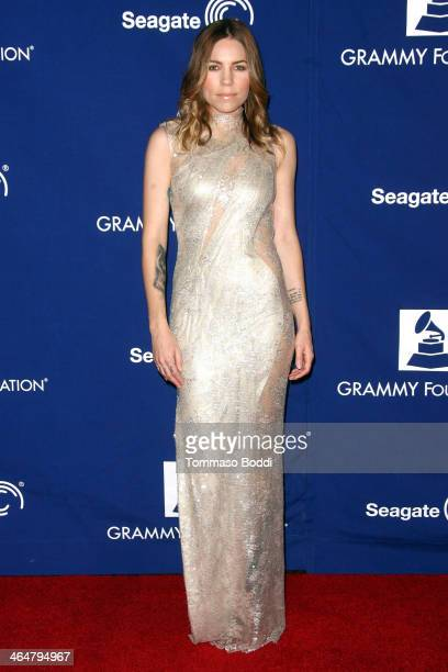 Musician Skylar Grey attends the A Song Is Born 16th Annual GRAMMY Foundation Legacy Concert held at The Wilshire Ebell Theatre on January 23 2014 in...