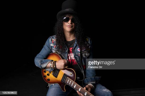 Musician Slash is photographed for Los Angeles Times on September 8 2018 in North Hollywood California PUBLISHED IMAGE CREDIT MUST READ Francine...