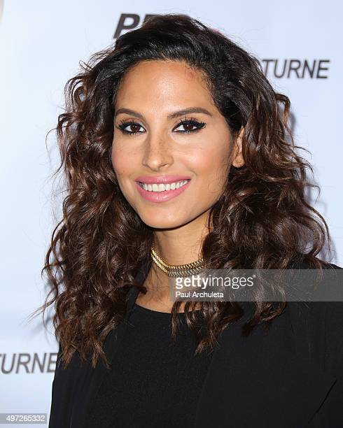 Musician Snoh Aalegra attends the Relief Live Benefit at LA River Studios on November 14 2015 in Los Angeles California