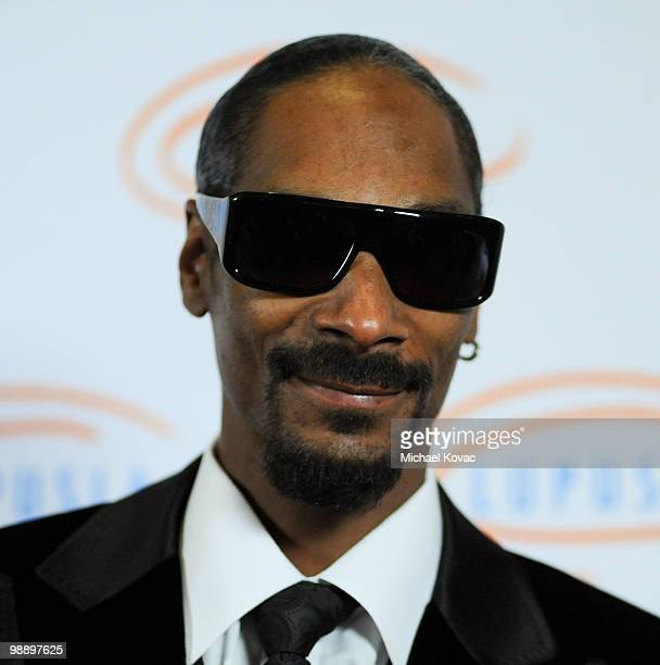 Musician Snoop Dogg attends the 10th Annual Lupus LA Orange Ball at the Beverly Wilshire Four Seasons Hotel on May 6 2010 in Beverly Hills California