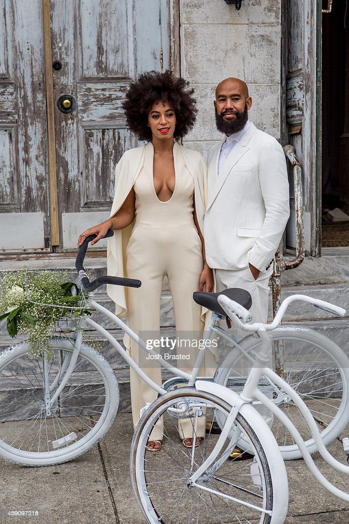 Solange Knowles Marries Alan Ferguson - Wedding Day : News Photo