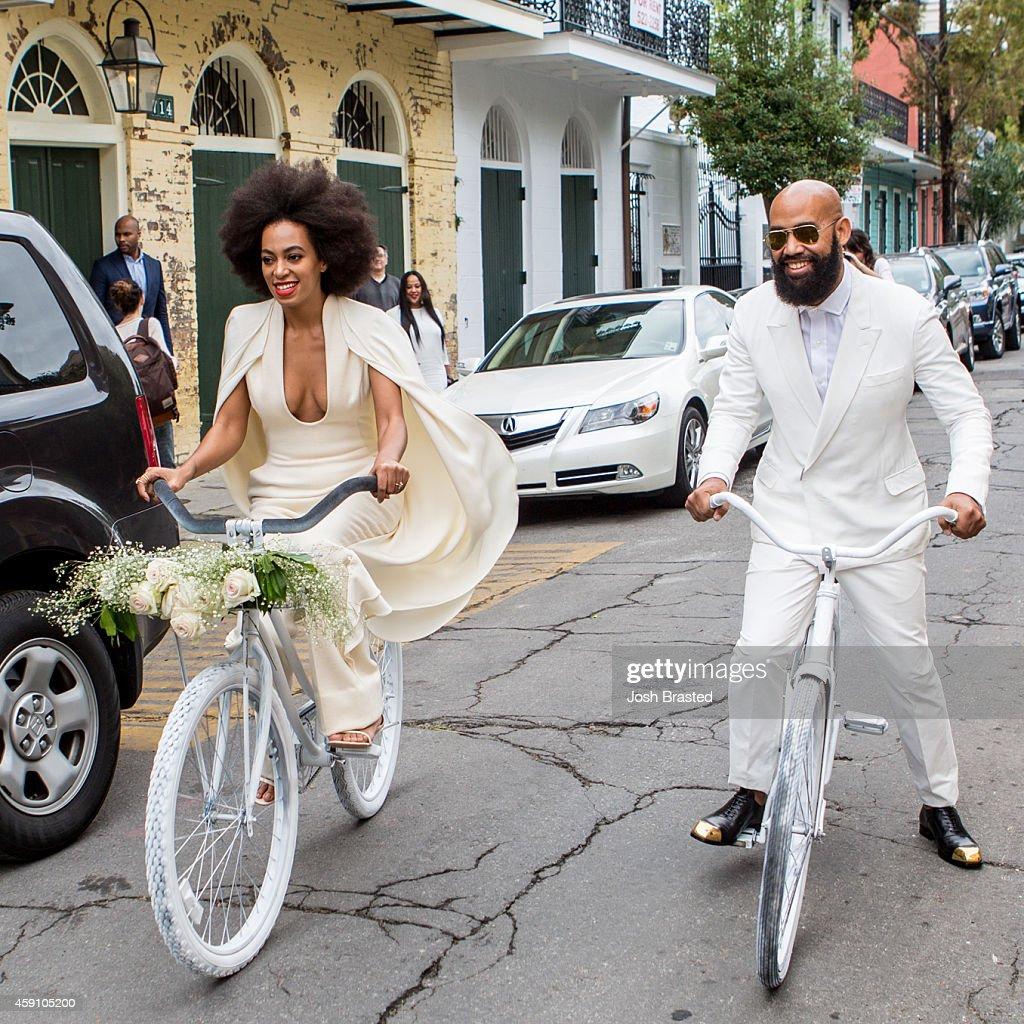 Solange Knowles Marries Alan Ferguson - Wedding Day : News Photo