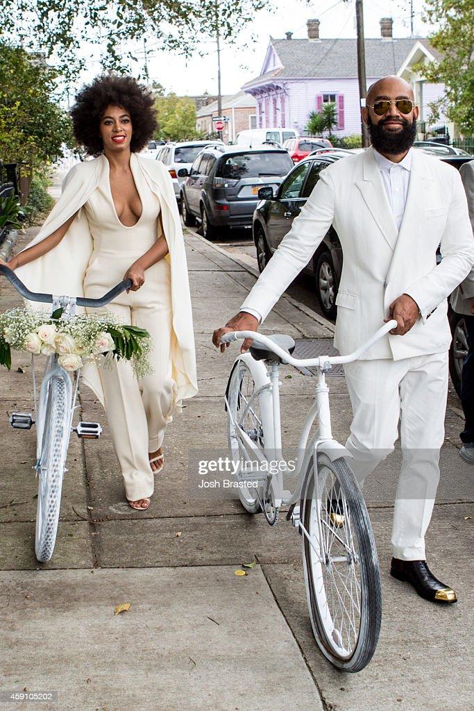 Solange Knowles Marries Alan Ferguson - Wedding Day : ニュース写真