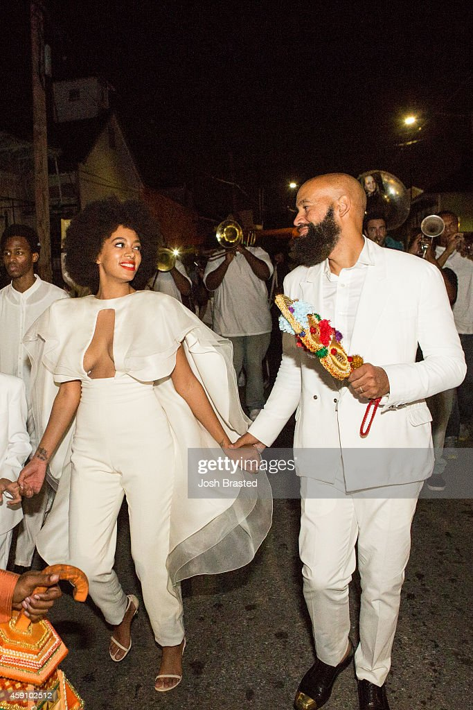 Solange Knowles Marries Alan Ferguson - Second Line And After Party : ニュース写真