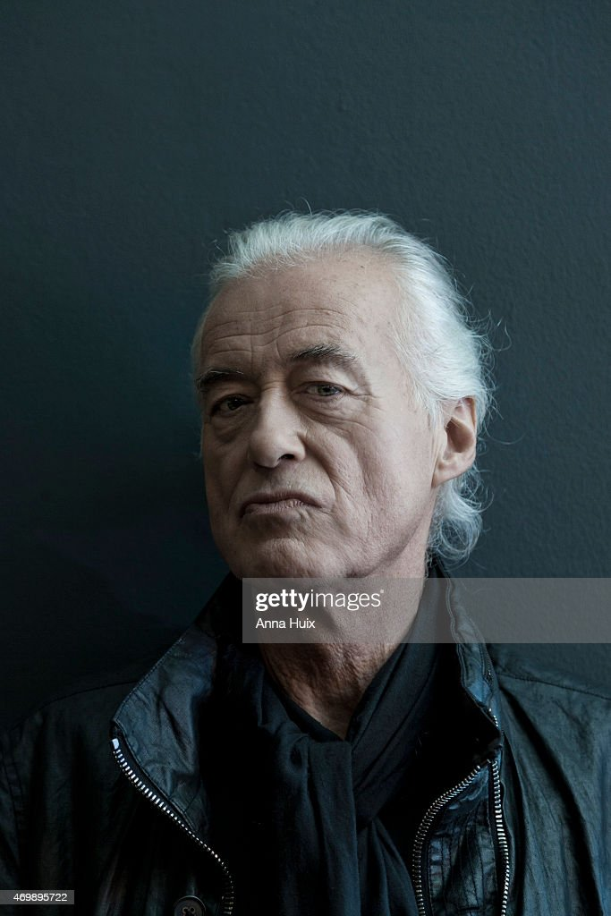 Musician, songwriter, multi-instrumentalist and record producer Jimmy Page is photographed for the Financial Times on October 27, 2014 in London, England.