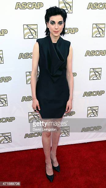 Musician St. Vincent attends the 32nd Annual ASCAP Pop Music Awards at the Lowes Hollywood Hotel on April 29, 2015 in Hollywood, California.