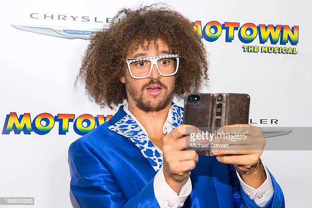 Musician Stefan 'Redfoo' Kendal Gordy of LMFAO attends the after party for the Broadway opening night for Motown The Musical at Roseland Ballroom on...