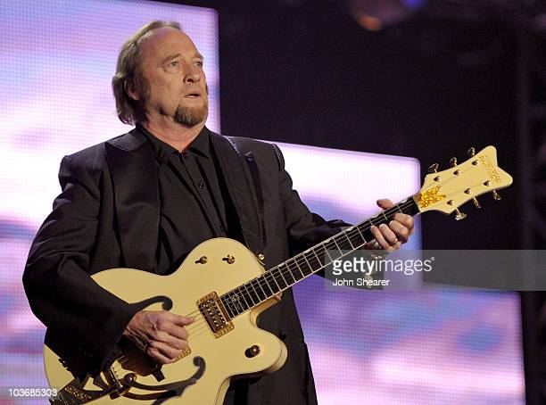 Musician Stephen Stills performs at the 2010 MusiCares Person Of The Year Tribute To Neil Young at the Los Angeles Convention Center on January 29,...
