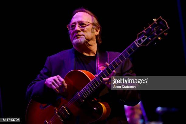 Musician Stephen Stills performs onstage during the 'Stills Collins' tour at Saban Theatre on September 1 2017 in Beverly Hills California
