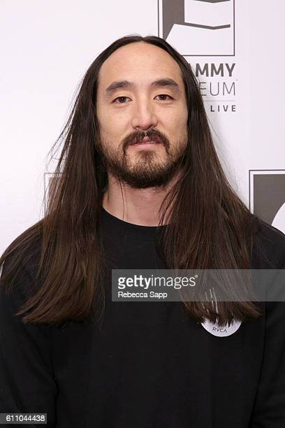 Musician Steve Aoki attends Up Close Personal Steve Aoki at The GRAMMY Museum on September 28 2016 in Los Angeles California