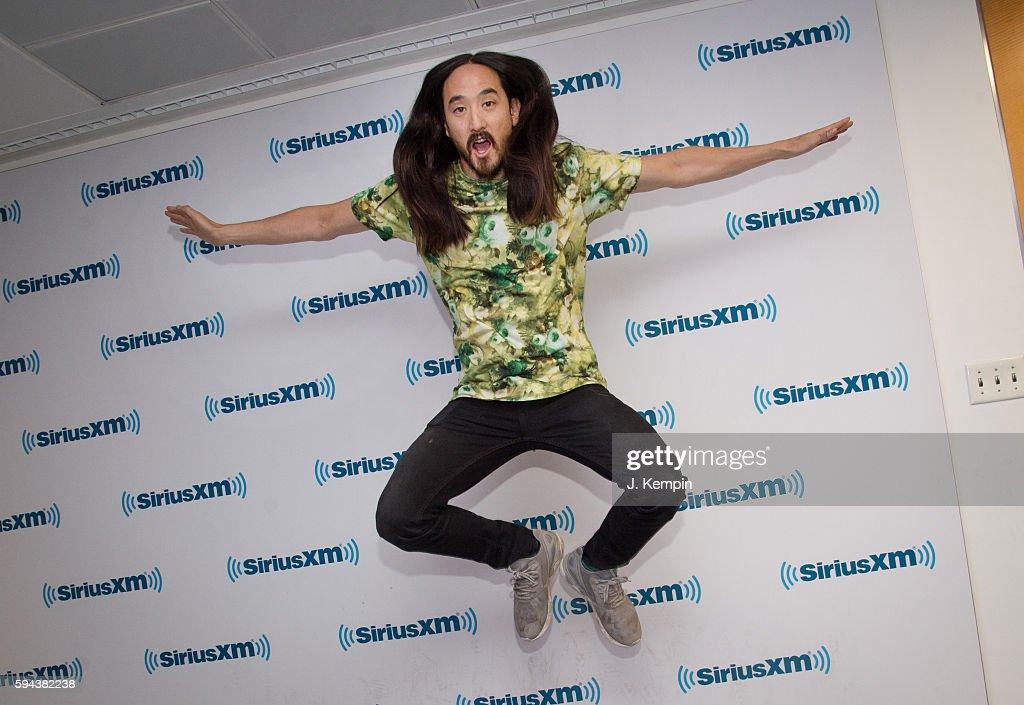 Celebrities Visit SiriusXM - August 23, 2016