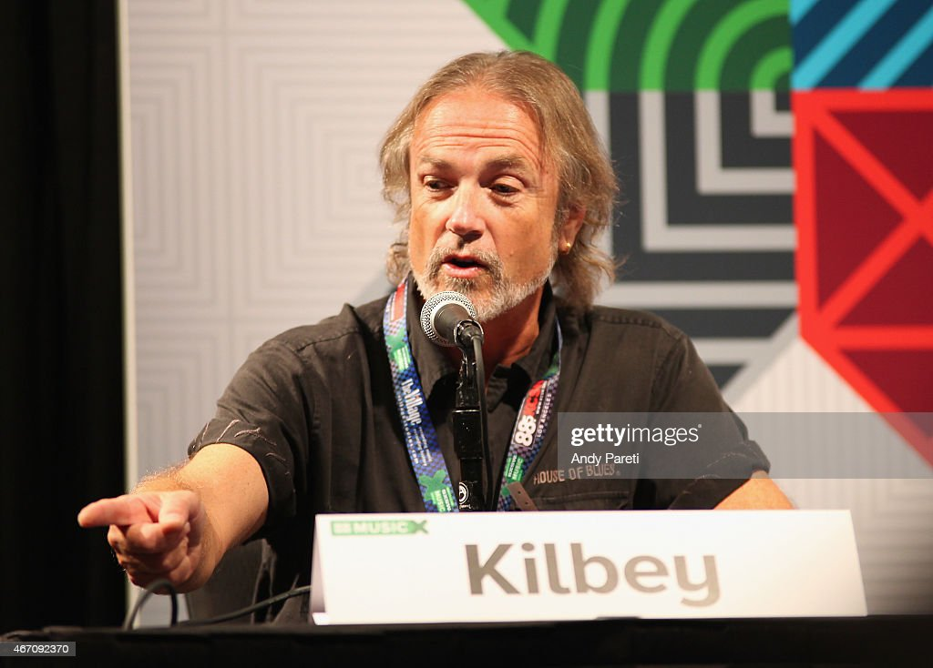 Musician Steve Kilbey speaks onstage at 'SXSW Interview: The Church' during the 2015 SXSW Music, Film + Interactive Festival at Austin Convention Center on March 20, 2015 in Austin, Texas.