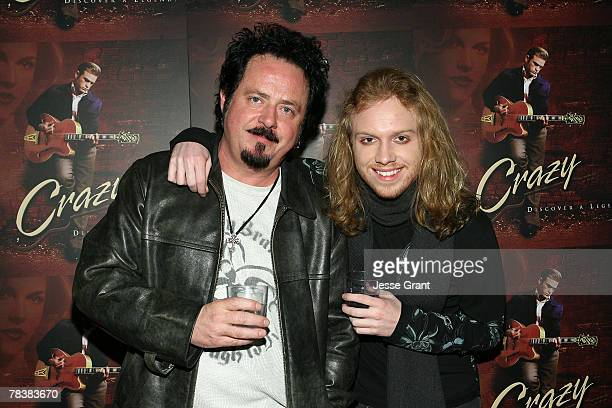 Photo of Steve Lukather  & his  Son  Trevor Lukather