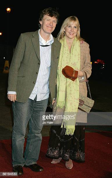 Musician Steve Winwood and wife Eugenia arrive at the live final of the UK Music Hall Of Fame 2005 the culmination of the twoweek Channel 4 series...