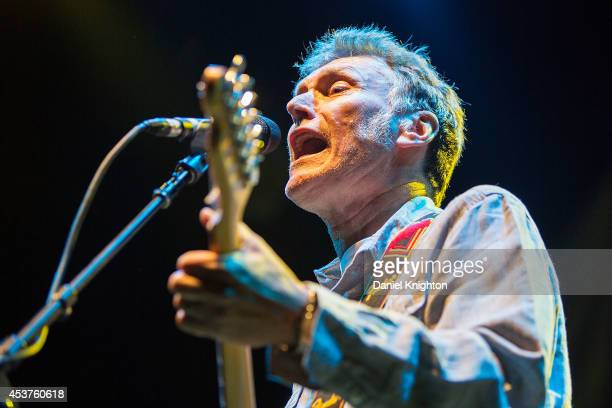 Musician Steve Winwood performs on stage at Viejas Arena on August 3 2014 in San Diego California