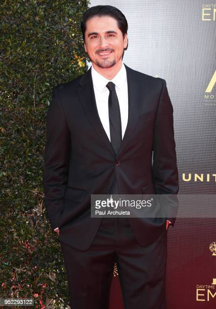 Musician Steven Rebollido attends the 45th Annual Daytime Creative Arts Emmy Awards at the Pasadena Civic Auditorium on April 27 2018 in Pasadena...