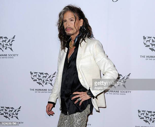 Musician Steven Tyler attends The Humane Society of the United States' to the Rescue Gala at Paramount Studios on May 7, 2016 in Hollywood,...