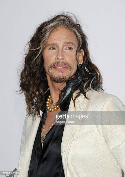 Musician Steven Tyler attends The Humane Society of the United States' to the Rescue Gala at Paramount Studios on May 7 2016 in Hollywood California