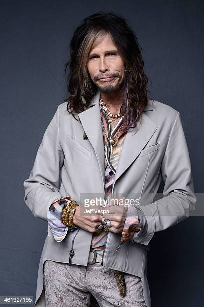 Musician Steven Tyler poses for a Wonderwall portrait at The Art of Elysium's 7th Annual HEAVEN Gala presented by Mercedes-Benz at Skirball Cultural...