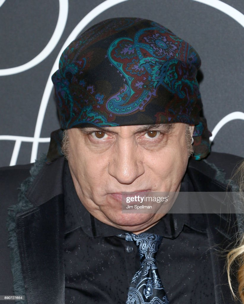 Musician Steven Van Zandt attends the 'Phantom Thread' New York premiere at Harold Pratt House on December 11, 2017 in New York City.