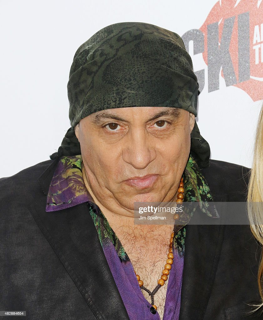 Musician Steven Van Zandt attends the 'Ricki And The Flash' New York premiere at AMC Lincoln Square Theater on August 3, 2015 in New York City.