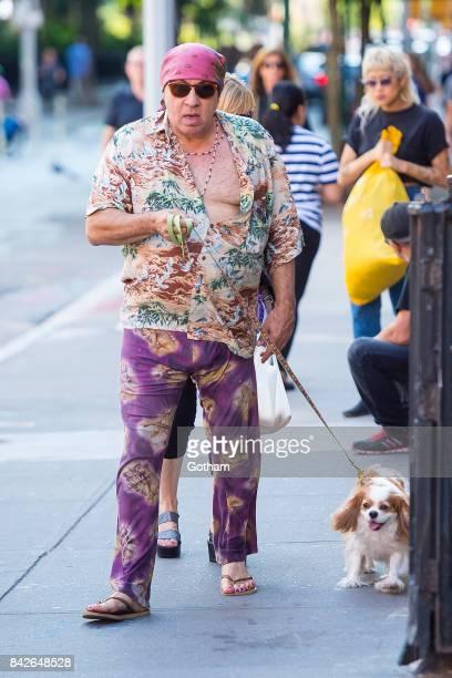 Musician Steven Van Zandt is seen in Greenwich Village on September 4 2017 in New York City