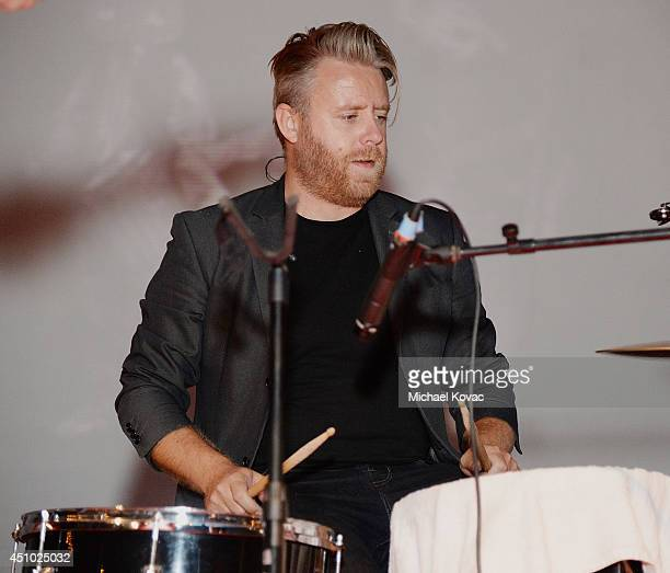 Musician Stevie J Palmer of musical group 'Deluka' performs onstage at the 'More Than a Cone' art auction and campaign launch benefiting Best Friends...