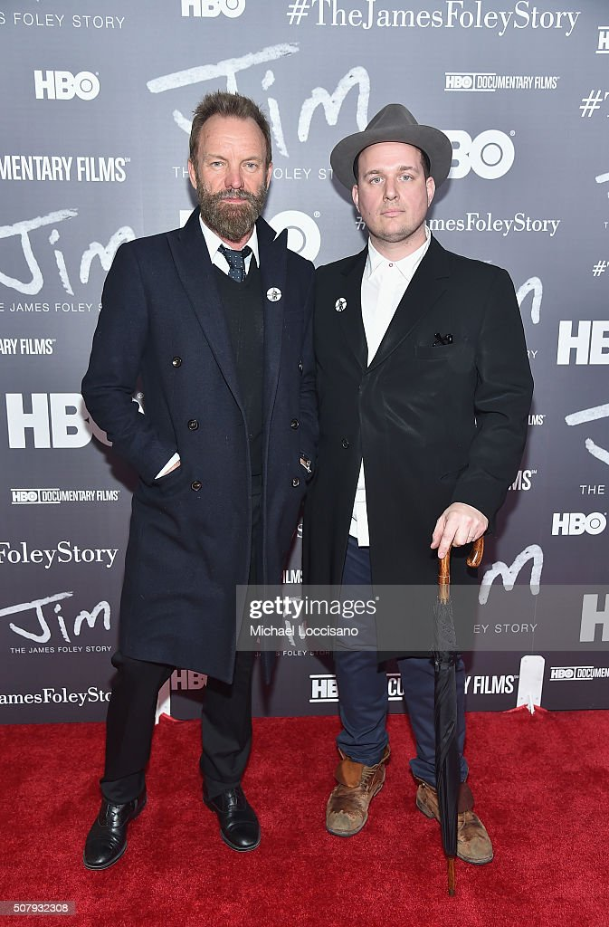 """NYC Screening Of HBO Documentary Film """"Jim: The James Foley Story"""" At Time Warner Center"""