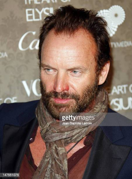 Musician Sting arrives at the Art of Elysium 2nd Annual Heaven Gala held at Vibiana on January 10, 2009 in Los Angeles, California.