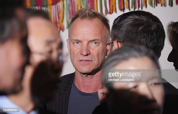 Musician Sting attends the United Nations Day Concert at United Nations on October 24 2012 in New York City