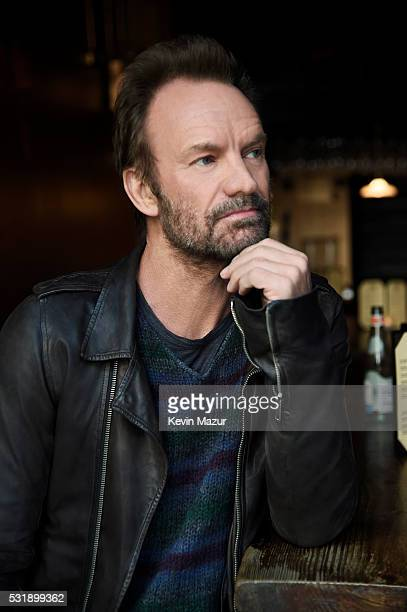 Musician Sting poses for a portrait on April 30 2016 in New York City