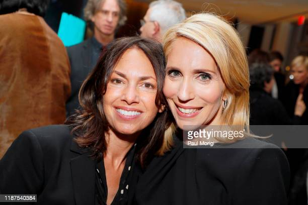 Musician Susanna Hoffs and Journalist Dana Bash attend the Bombshell Special Screening at the MPAA on November 13 2019 in Washington DC