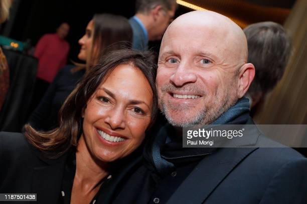 Musician Susanna Hoffs and Talent Agent Jimmy Miller attend the Bombshell Special Screening at the MPAA on November 13 2019 in Washington DC