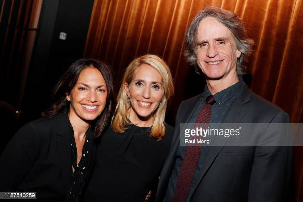 Musician Susanna Hoffs Journalist Dana Bash and Director Jay Roach attend the Bombshell Special Screening at the MPAA on November 13 2019 in...