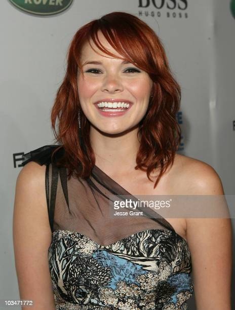 Musician Suzanne Santo of Honey Honey arrives at VH1 Save The Music Foundation and Esquire Magazine Benefit held at Esquire House on October 25 2008...